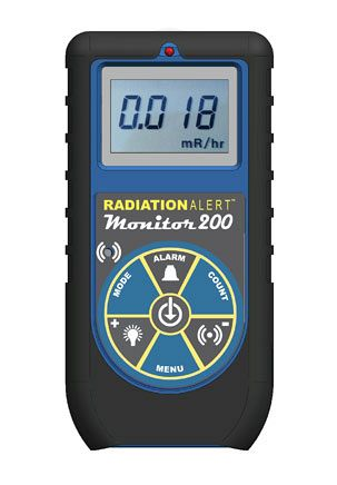 Monitor 200 Compact Radiation Detector - SE International