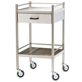 Single Drawer Instrument Trolley