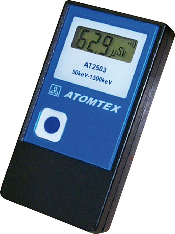 AT2503 Series Personal Dosimeters - Atomtex