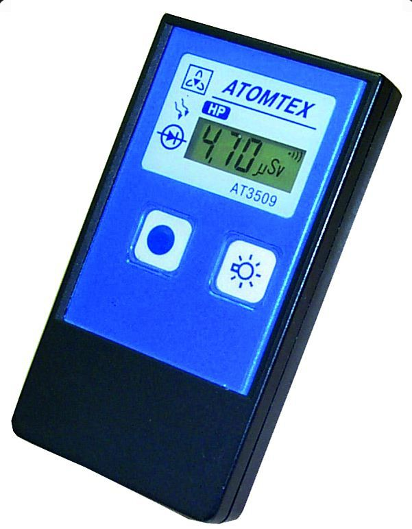 AT3509 Series Personal Dosimeters - Atomtex