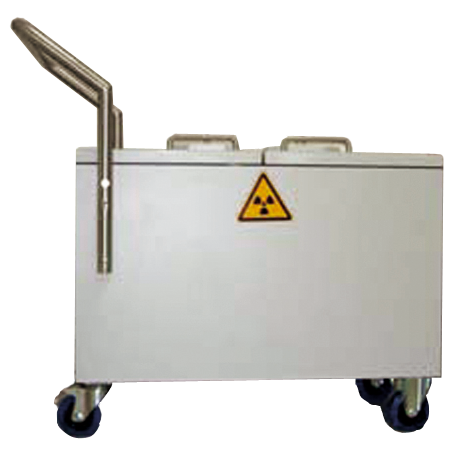Custom Lead-lined Containers/trolleys - InMed