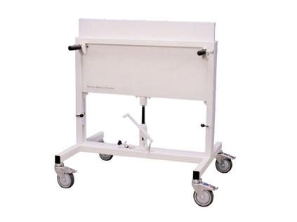 Adjustable Height Mobile Radiation Shield - Biodex