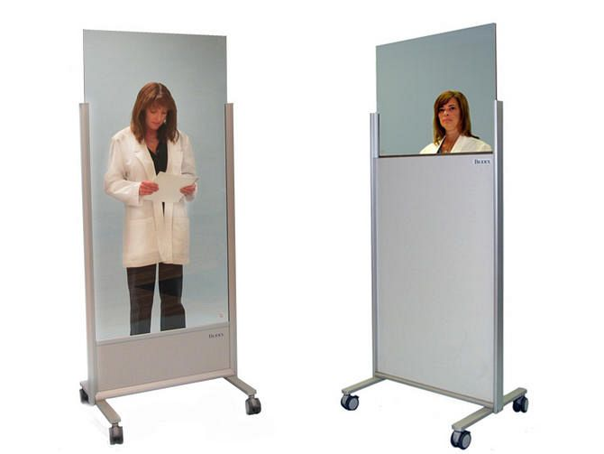Clear-lead Mobile Barriers - Biodex